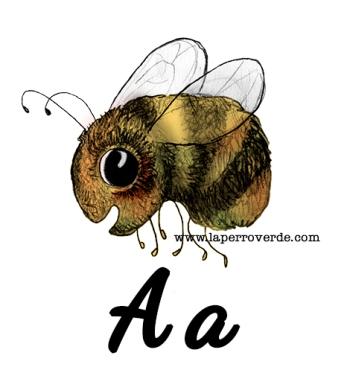 a es de abeja